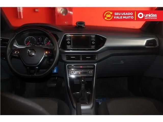 Volkswagen T-cross 1.0 200 tsi total flex comfortline automático - Foto 7