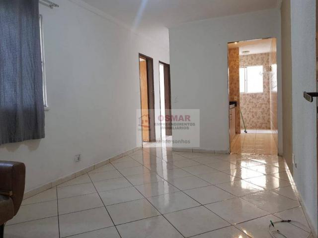 Apartamento com 2 dormitórios à venda, 52 m² por R$ 160.000,00 - Parque Bandeirantes I (No - Foto 3