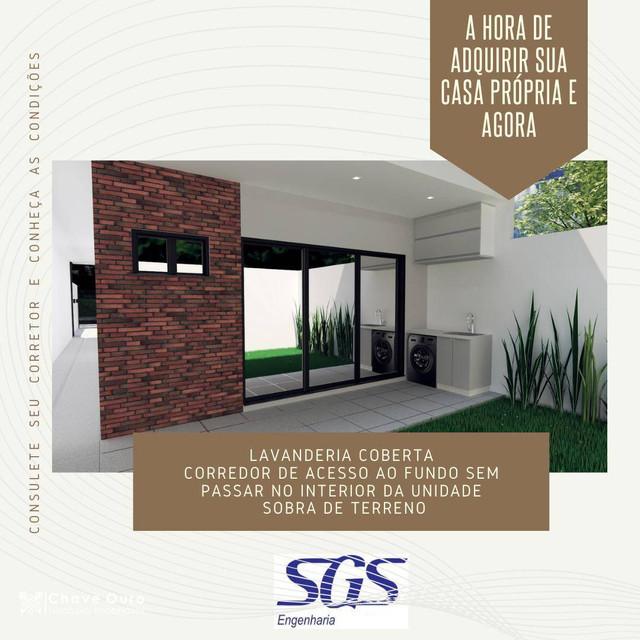 Casa no Florais do Paraná com 01 Suíte + 01 dormitório - Foto 3