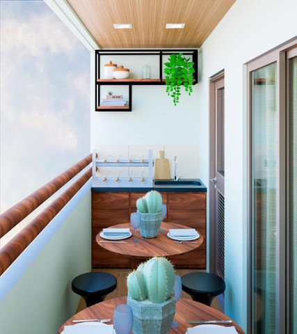 Eco Essence !! Seu Lançamento com varanda . - Foto 2