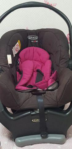BB conforto Graco preto e Pink  - Foto 3