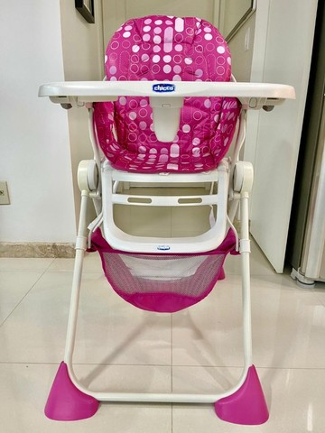 Cadeira alimentação Pocket Lunch pink  Chicco
