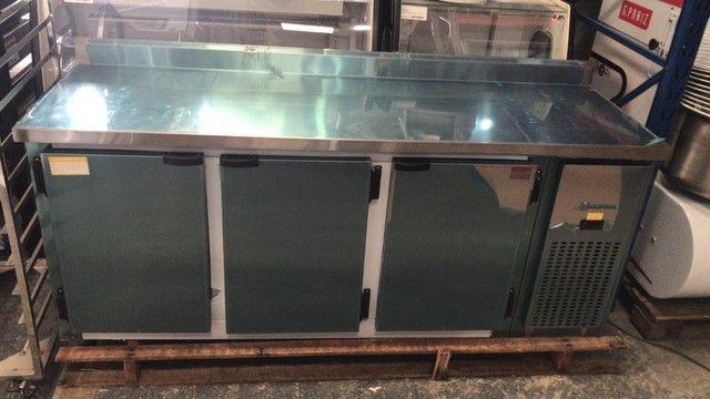 v- Balcão inox refrigerado para sua cozinha industrial - Foto 4
