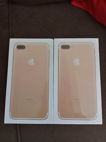 iPhone 7 Plus 128gb lacrado com nota fiscal - Foto 3
