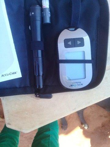 Aparelho. De medir diabetes  - Foto 3
