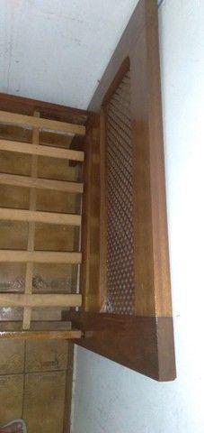 Cama de Solteiro de madeira Maciça - Foto 2
