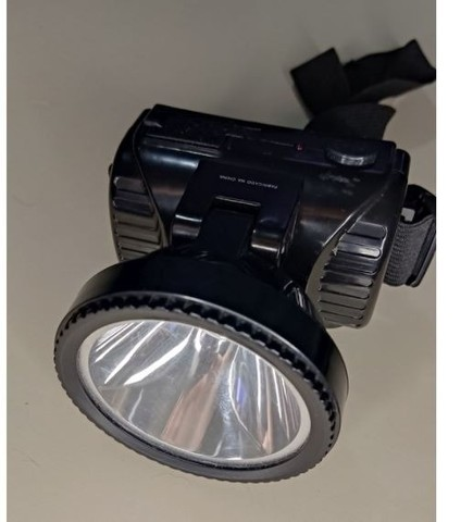 Lanterna Cabeça Led Recarregável