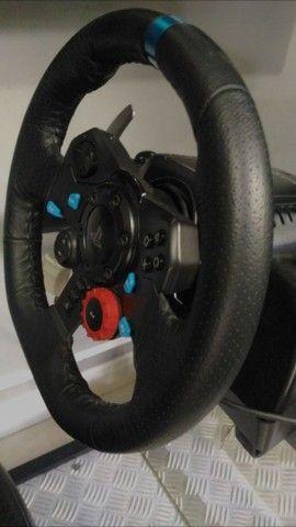 Volante g29 com cockpit - Foto 4