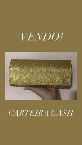 Bolsa Mônica Sanches e Carteira de mão Gash - Foto 2