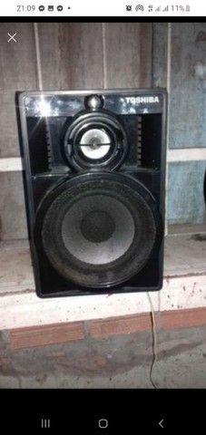 Aparelho com caixas de som  - Foto 2
