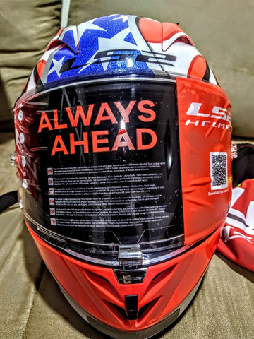 Capacete LS2 FF323 Arrow R Freedom