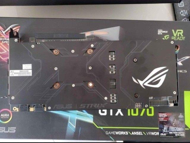 GTX 1070 8GB Asus Strix - Foto 4