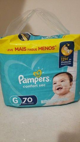FRALDA PAMPERS G