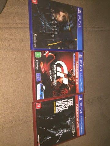 Vendo Jogos de PS4