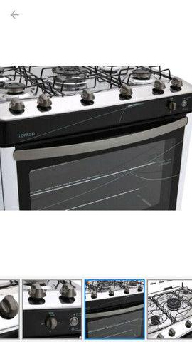 Vendo fogão esmaltec novo no plástico nunca usado! - Foto 4