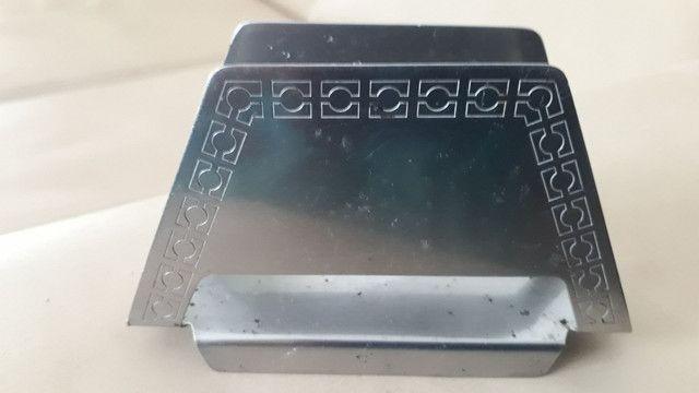 Porta guardanapo de inox