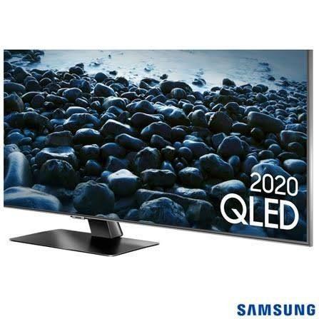 "Samsung Smart TV QLED 4K Q80T 55"", Pontos Quânticos , Borda Infinita. 120 hz Hdmi 2.1.  - Foto 6"