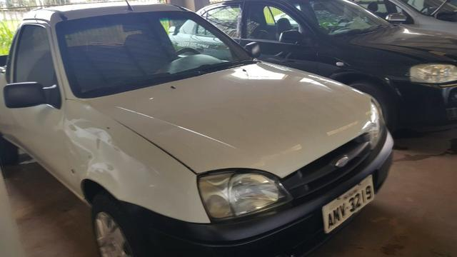 Ford Courier 1.6 2007 Placa A - Foto 2