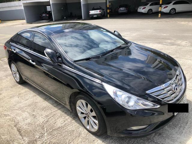 Great Hyundai Sonata 2.4 GLS Com TETO SOLAR E Rodas Aro 18