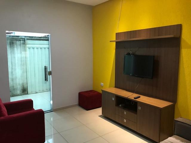 Linda casa 100% mobiliada (99229-5133)