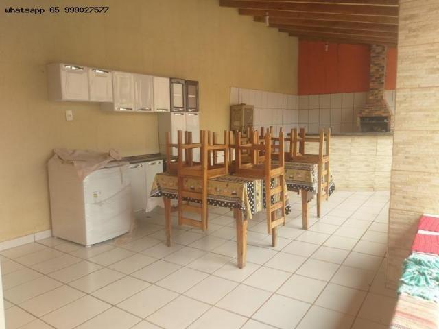 Casa para Venda em Várzea Grande, Ouro Verde, 3 dormitórios, 1 suíte, 3 banheiros, 4 vagas - Foto 14