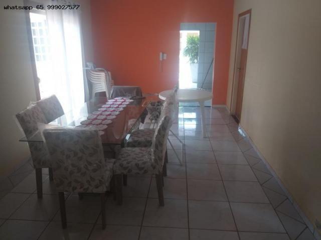 Casa para Venda em Várzea Grande, Ouro Verde, 3 dormitórios, 1 suíte, 3 banheiros, 4 vagas - Foto 12