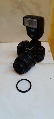 Camera Profissional Nikon D3100 Completa, Com Vários Acessórios