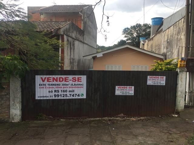 Vendo terreno 6.80 x 44 c/02 casa na bom Jesus próximo à avenida Protásio Alves