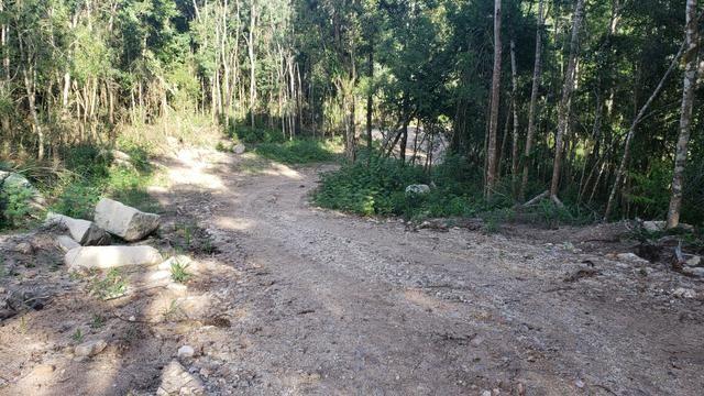 Chácara Agudos do Sul - 50 mts da Br c/ Tanque e rio - Foto 8