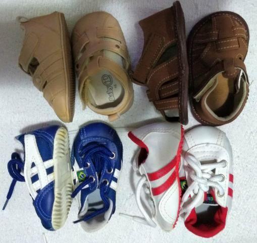 Sapatos para bebê - menino