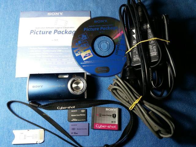 Câmera Digital Sony Cyber-Shot DSC-L1 - Foto 5