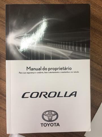 Manual do proprietário Corolla 2017 - Foto 2