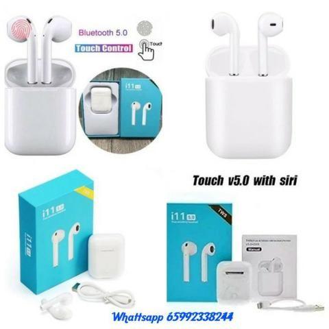 Fone Bluetooth ill TWS - ( Touch Control) Garantia de Satisfação 30 dias!