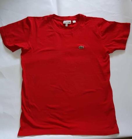 Camisa lacoste original tamanho 12