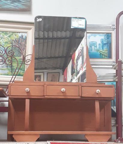 PENTEADEIRA ANTIGA EM MADEIRA Mercado das Pulgas *10X parc - Foto 5