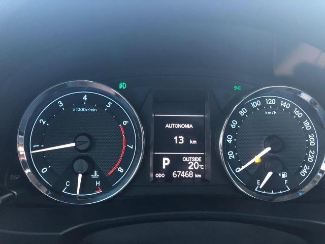 Toyota Corolla Altis Top de linha Único dono Baixo KM - Foto 7
