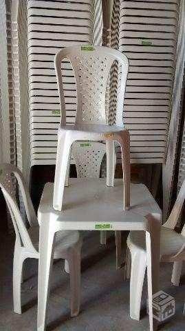 Conjunto cadeiras e mesas - Foto 2