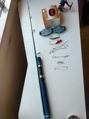 Kit de pesca novo - Foto 5