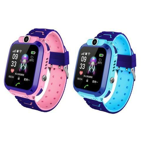 Relógio Smartwatch Kids Gps Criança Telefone Localizador Dividimos Entregamos