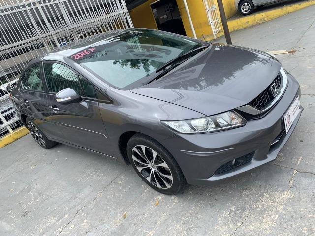 Honda civic lxr 2016 automatico 10 mil de entrada - Foto 5