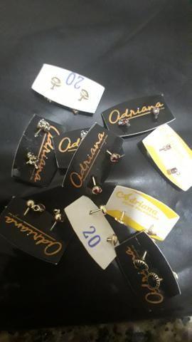 Semi jóias folheadas com garantias
