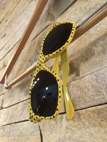 Óculos de sol wayfarer bolinhas - Foto 2