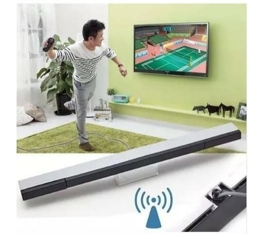 Barra (sensor Bar) Régua Com Fio Para Nintendo Wii E Wiiu - Foto 3