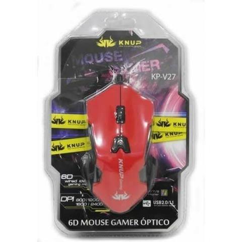Mouse gamer kp, sensor DPI 2400 e Design totalmente ergonômico - Foto 2