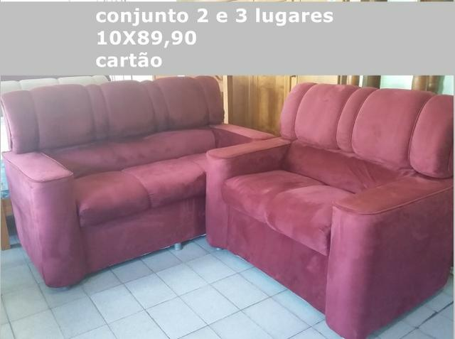 Conjunto de sofá-loja fisica - Foto 2