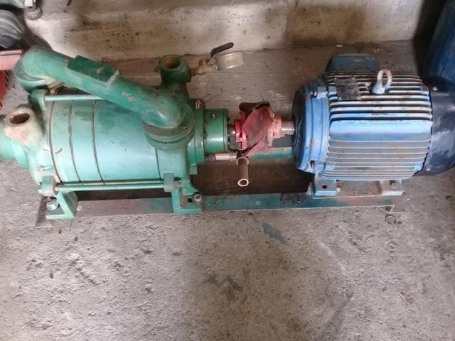 Bomba de vacuo + motor - Foto 2