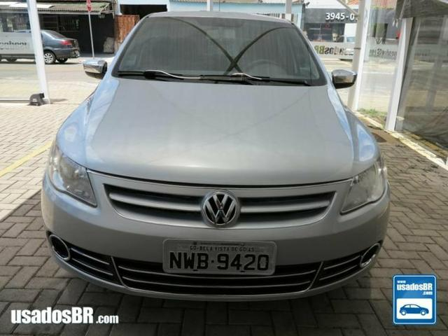Volkswagen gol G5 trend 1.0 prata 2011 - Foto 3