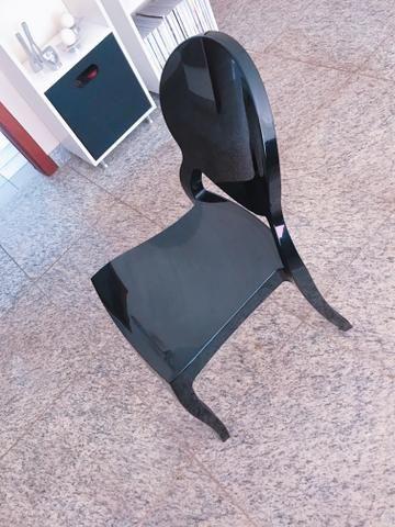 Cadeira Vitoria Ghost Tok Stok - Foto 3