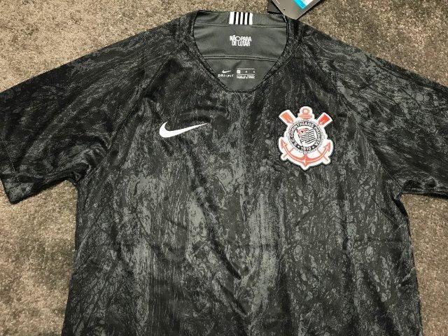 5752061ab6 Camisa nike corinthians II 2018/19 torcedor masculina tamanho GG única  disponível