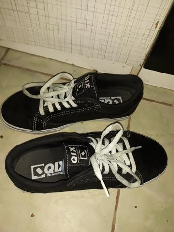 8867a5f9b10 Tênis Qix DT original Cor  preto com branco - Roupas e calçados ...